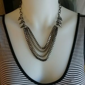 Spike and Chain Necklace $1 Bundled